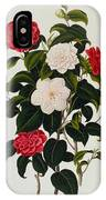 Myrtle Leaved Camellia IPhone Case