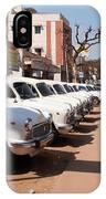 Mysore Taxis IPhone Case