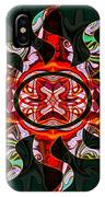 Mysterious Circumstances Abstract Sun Symbol Artwork IPhone Case