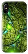 Mysterious Lights IPhone Case
