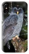 Mysterious Owl IPhone Case