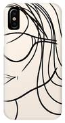 Mystery Woman IPhone Case