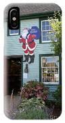 Mystic Christmas Shop - Connecticut IPhone Case