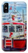 Mystic Fireboat IPhone Case
