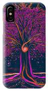 Mystic Spiral Tree 1 Pink By Jrr IPhone Case
