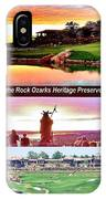 Mystical Sunset At Top Of The Rock IPhone Case
