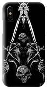 Mythology And Skulls 2 IPhone Case