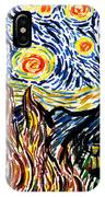 Vincent Van Goghs Starry Night IPhone Case
