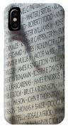 Names On A Wall IPhone Case