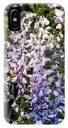 Nancys Wisteria 3 Db IPhone Case