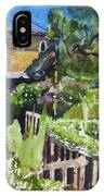 Napa Valley Winery In June IPhone Case