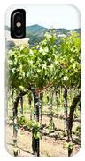 Napa Vineyard Grapes IPhone Case