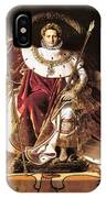 Napoleon I On His Imperial Throne IPhone Case