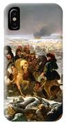 Napoleon On The Battlefield Of Eylau IPhone Case