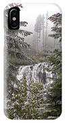 Narada Fall Mt Rainier II IPhone Case