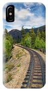 Narrow Gauge Tracks In Silver Country IPhone Case