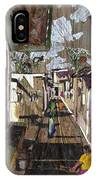 Narrow Street IPhone Case
