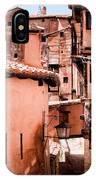 Narrow Streets Of Albarracin  IPhone Case
