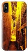 Narrow Way To The Light IPhone Case