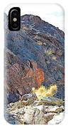 Narrowing Of Trail In Big Painted Canyon Trail In Mecca Hills-ca IPhone Case