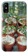 Nasa Germ Free Plant Research IPhone Case