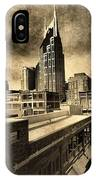 Nashville Grunge IPhone Case
