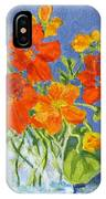 Nasturtiums IPhone Case