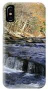 Natchaug River Falls IPhone Case
