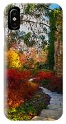 National Cathedral Path IPhone Case