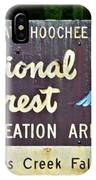 National Forest Recreation Area IPhone Case