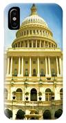 Nations Capital  IPhone Case