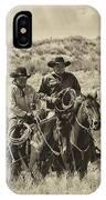 Native American Cowboys IPhone Case