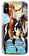Native American Warrior IPhone Case