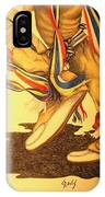 Native Dancer's Feet 1 IPhone Case