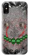 Native Indian Skull Art IPhone Case