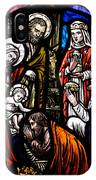 Nativity With Kings IPhone Case