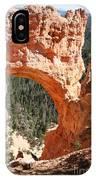 Natural Bridge  Bryce Canyon IPhone Case