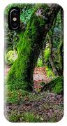 Natural Emeralds II. Wicklow. Ireland IPhone Case