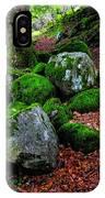 Natural Emeralds. Wicklow. Ireland IPhone Case