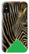 Natural Zebra IPhone Case