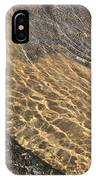 Nature Abstract - Clear Lake Tahoe Water  IPhone Case
