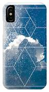 Nature And Geometry - The Clouds IPhone Case