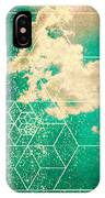 Nature And Geometry - The Sky IPhone Case