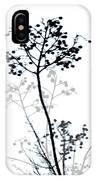 Nature Design Black And White IPhone Case