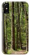 Nature Walk Early Spring IPhone Case