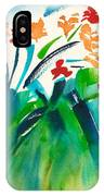 Natures Bouquet Abstract IPhone Case