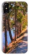 Natures Highway IPhone Case