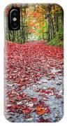 Nature's Red Carpet IPhone Case