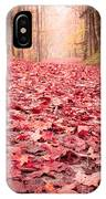 Nature's Red Carpet Revisited IPhone Case