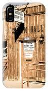 Naturita Town Hall - Vintage IPhone Case